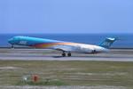 動物村猫君さんが、大分空港で撮影した日本エアシステム MD-90-30の航空フォト(写真)