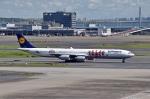 sonnyさんが、羽田空港で撮影したルフトハンザドイツ航空 A340-642の航空フォト(写真)