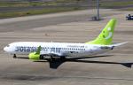 なごやんさんが、中部国際空港で撮影したソラシド エア 737-81Dの航空フォト(写真)