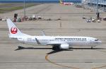 なごやんさんが、中部国際空港で撮影した日本トランスオーシャン航空 737-8Q3の航空フォト(写真)