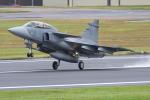 Tomo-Papaさんが、フェアフォード空軍基地で撮影したスウェーデン空軍 JAS39Dの航空フォト(写真)