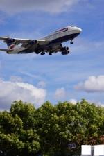 yusuke@HNDさんが、ロンドン・ヒースロー空港で撮影したブリティッシュ・エアウェイズ 747-436の航空フォト(写真)