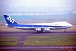 apphgさんが、羽田空港で撮影した全日空 747SR-81の航空フォト(写真)