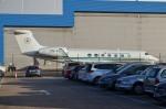 IL-18さんが、ロンドン・ルートン空港で撮影したナイジェリア空軍 G500/G550 (G-V)の航空フォト(写真)