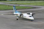 NIKEさんが、宮古空港で撮影した琉球エアーコミューター DHC-8-103 Dash 8の航空フォト(写真)