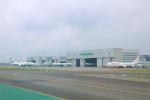 臨時特急7032Mさんが、台湾桃園国際空港で撮影したオリエント・タイ航空 747-441の航空フォト(写真)
