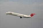 strikeさんが、羽田空港で撮影した日本航空 MD-87 (DC-9-87)の航空フォト(写真)