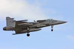 Echo-Kiloさんが、タンペレ・ピルカッラ空港で撮影したスウェーデン空軍 JAS39Aの航空フォト(写真)