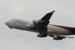 Koenig117さんが、関西国際空港で撮影したUPS航空 747-44AF/SCDの航空フォト(写真)