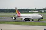 pringlesさんが、成田国際空港で撮影したアシアナ航空 747-48EMの航空フォト(写真)