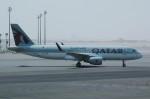 ぼんやりしまちゃんさんが、ドーハ・ハマド国際空港で撮影したカタール航空 A320-214の航空フォト(写真)