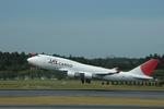 gunmano_kumasanさんが、成田国際空港で撮影した日本航空 747-446(BCF)の航空フォト(写真)