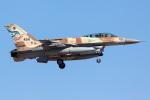 Ryan-airさんが、ネリス空軍基地で撮影したイスラエル空軍 F-16I Sufaの航空フォト(写真)