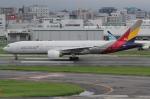 tak✈さんが、福岡空港で撮影したアシアナ航空 777-28E/ERの航空フォト(写真)