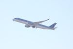 しかばねさんが、フランクフルト国際空港で撮影したカタール航空 A350-941XWBの航空フォト(写真)