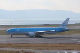 Shibataさんが、関西国際空港で撮影したKLMオランダ航空 777-206/ERの航空フォト(写真)