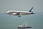 えるあ~るさんが、香港国際空港で撮影したタイ王国空軍 A319-115CJの航空フォト(写真)