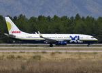 RA-86141さんが、アンタルヤ空港で撮影したXL航空 ジャーマニー 737-81Qの航空フォト(写真)
