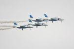 tomoMTさんが、松島基地で撮影した航空自衛隊 T-4の航空フォト(写真)