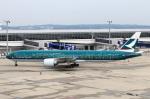 なごやんさんが、中部国際空港で撮影したキャセイパシフィック航空 777-367/ERの航空フォト(写真)