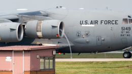 coolinsjpさんが、烏山空軍基地で撮影したアメリカ空軍 C-17A Globemaster IIIの航空フォト(写真)