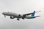 こだしさんが、成田国際空港で撮影したガルーダ・インドネシア航空 777-3U3/ERの航空フォト(写真)