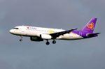 まいけるさんが、スワンナプーム国際空港で撮影したタイ・スマイル A320-232の航空フォト(写真)