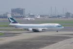 かずまっくすさんが、羽田空港で撮影したキャセイパシフィック航空 747-412の航空フォト(写真)