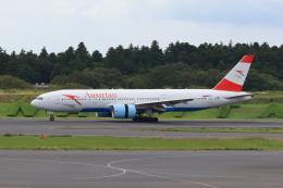 たまさんが、成田国際空港で撮影したオーストリア航空 777-2Z9/ERの航空フォト(写真)
