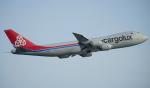 keikei123さんが、香港国際空港で撮影したカーゴルクス 747-8R7F/SCDの航空フォト(写真)