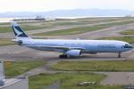 ぽんさんが、関西国際空港で撮影したキャセイパシフィック航空 A330-343Xの航空フォト(写真)