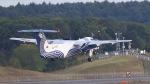 ぷかちさんが、新千歳空港で撮影したオーロラ DHC-8-201Q Dash 8の航空フォト(写真)