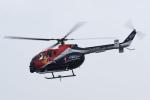 kanadeさんが、浦安場外離着陸場で撮影したザ・フライングブルズ Bo 105CBS-5の航空フォト(写真)