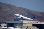 KAZKAZさんが、サンフランシスコ国際空港で撮影したユナイテッド航空 747-422の航空フォト(写真)