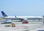 KAZKAZさんが、サンフランシスコ国際空港で撮影したユナイテッド航空 757-33Nの航空フォト(写真)