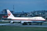 トロピカルさんが、羽田空港で撮影した日本航空 747SR-46の航空フォト(写真)