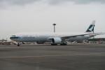 職業旅人さんが、成田国際空港で撮影したキャセイパシフィック航空 777-367/ERの航空フォト(写真)