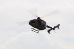 空とぶイルカさんが、伊勢崎市ちびっこ広場で撮影した茨城県防災航空隊 BK117C-2の航空フォト(写真)