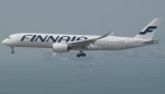 にっしーさんが、香港国際空港で撮影したフィンエアー A350-941XWBの航空フォト(写真)