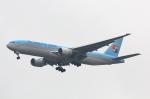 こだしさんが、成田国際空港で撮影した大韓航空 777-2B5/ERの航空フォト(写真)