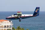 みなかもさんが、プリンセス・ジュリアナ国際空港で撮影したウィンエア DHC-6-300 Twin Otterの航空フォト(写真)
