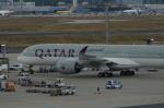 みっちゃんさんが、フランクフルト国際空港で撮影したカタール航空 A350-941XWBの航空フォト(写真)