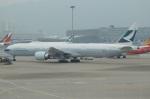 にっしーさんが、香港国際空港で撮影したキャセイパシフィック航空 777-367/ERの航空フォト(写真)