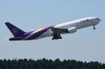 sky77さんが、成田国際空港で撮影したタイ国際航空 777-2D7の航空フォト(写真)