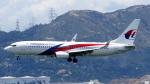 誘喜さんが、香港国際空港で撮影したマレーシア航空 737-8H6の航空フォト(写真)