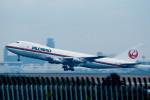 トロピカルさんが、成田国際空港で撮影した日本航空 747-246F/SCDの航空フォト(写真)