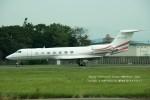 かみきりむしさんが、名古屋飛行場で撮影したTAI LEASING INC G-V-SP Gulfstream G550の航空フォト(写真)