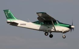 だびでさんが、調布飛行場で撮影した共立航空撮影 TU206G Turbo Stationair 6の航空フォト(写真)