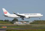 雲霧さんが、成田国際空港で撮影した日本航空 767-346/ERの航空フォト(写真)
