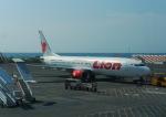 さすけさんが、デンパサール国際空港で撮影したライオン・エア 737-8GPの航空フォト(写真)